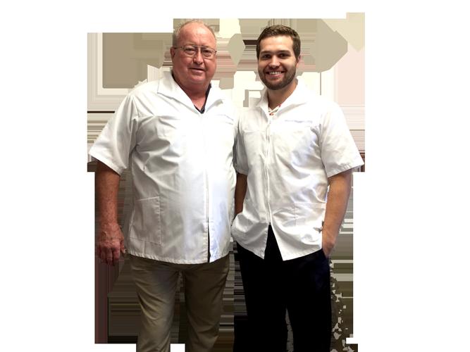 Dr. Robert Haggerty and Dr. Brett Haggerty